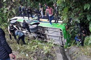 Cusco: Fiscal y 2 PNP mueren en accidente de bus