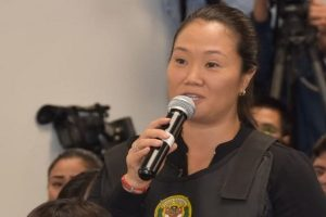 Keiko Fujimori interrogada por caso Joaquín Ramírez