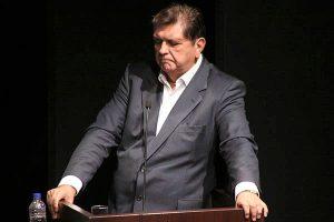 Alan García Pérez se suicidó antes de ser detenido