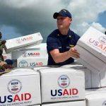EE.UU. deja toneladasde ayuda en Colombia para ser distribuidos en Venezuela