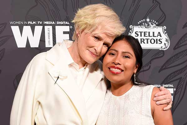 "Glenn Close a Yalitza Aparicio: ""Es un tesoro nacional mexicano"""