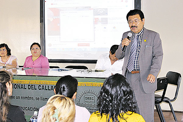 DREC propone implementar currículo regional en el Callao