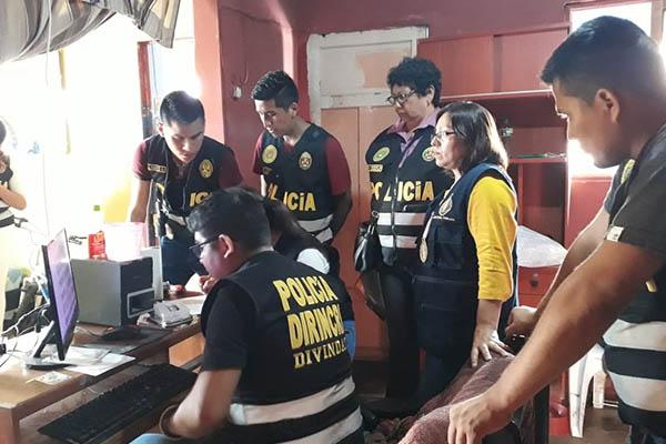 Callao: Fiscalía y Policía realizan operativos contra la pornografía infantil