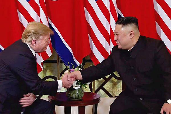 Donald Trump y Kim Jong-un optimistas en la cumbre por la desnuclearización