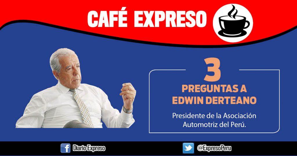 """Edwin Derteano: """"Millones de peruanos dependen de motos lineales para trabajar"""""""