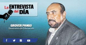 Grover Pango: Sistema educativo no colapsará por la inmigración