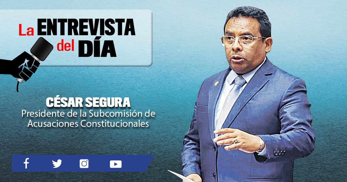 """César Segura: """"Revisar el caso de Héctor Becerril podría demorar"""""""