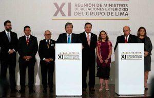 GrupodeLima: Declaración completa sobre situación en Venezuela