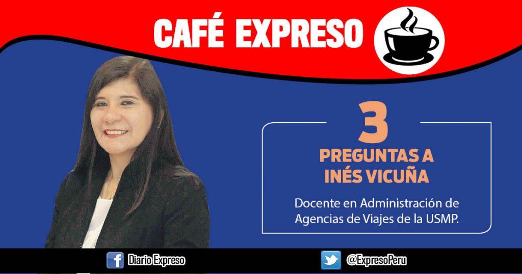 """Inés Vicuña: """"Viajes al sur del Perú favorecen el turismo interno"""""""