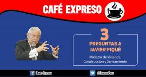"Javier Piqué: ""MVCS entrega 290 viviendas prefabricadas"""