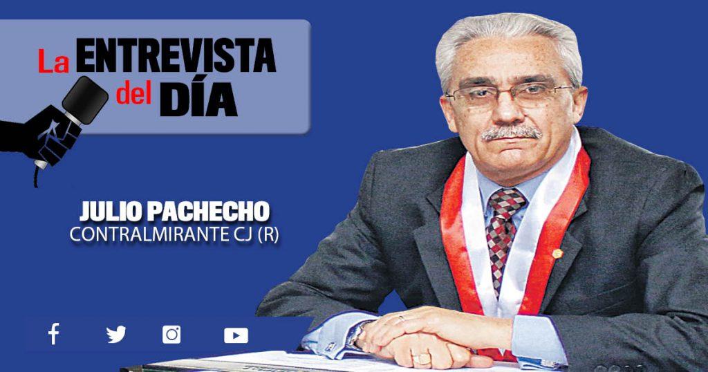 Julio Pacheco: El fuero militar tiene estabilidad jurídica