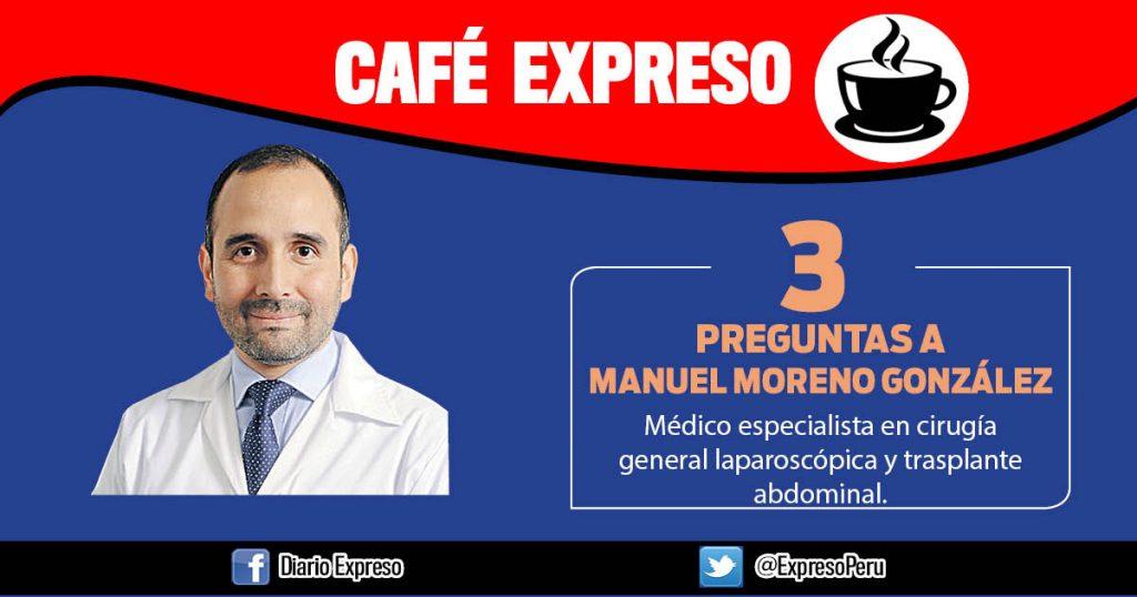 "Manuel Moreno González: ""Hay 1.6 donantes de órganos por cada millón de peruanos"""