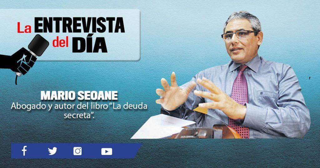 Mario Seoane: Quieren desaparecer la deuda agraria