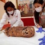 EE.UU. devuelve primera momia infante del Perú