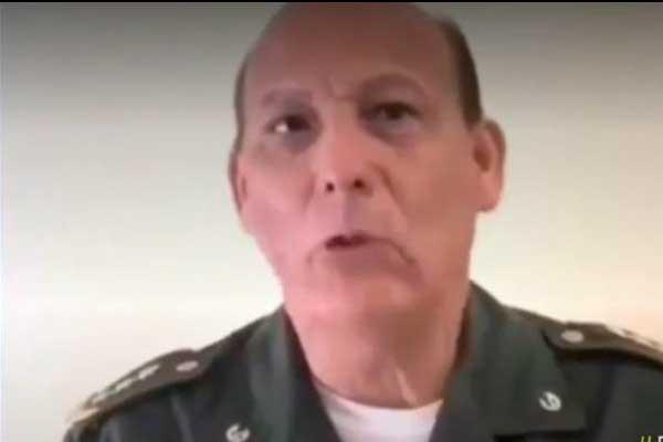 Coronel del Ejército de Venezuela desconoce a Nicolás Maduro