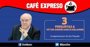 Víctor Andrés García Belaunde: Norma del municipio del Callao ha dañado la imagen del Perú
