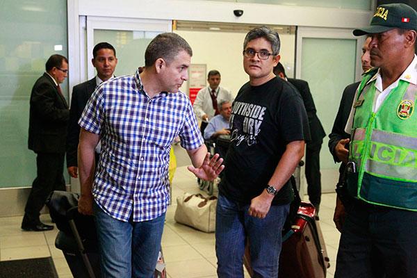 Fiscales regresan de Brasil con las manos vacías