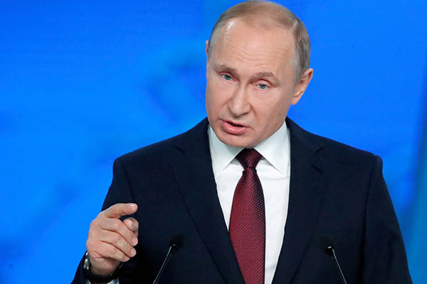 Putin logra que Rusia tenga influencia en el mundo