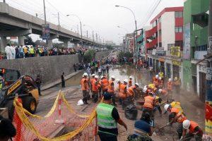 Aniego en SJL: 67% dice que Sedapal no tiene un plan de contingencia ante un desastre similar