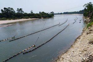 Colombia: 108 barreras para evitar que derrame de petróleo llegue al río Catatumbo