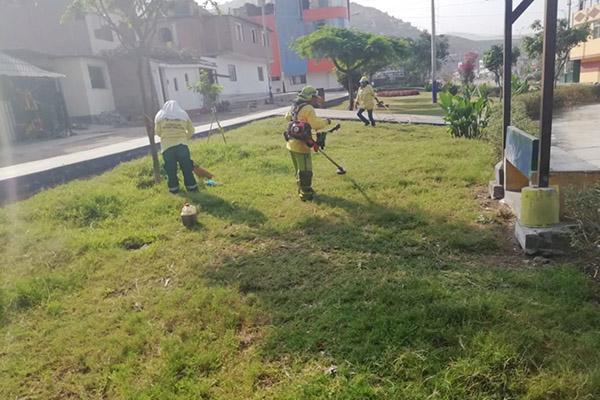 Villa María del Triunfo inicia programa de recuperación de áreas verdes