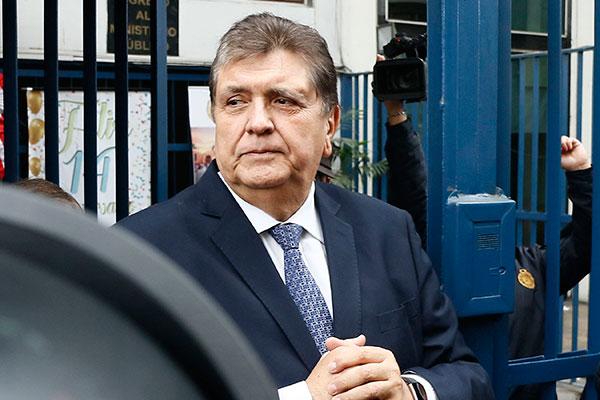 Alan y el Apra investigados como organización criminal