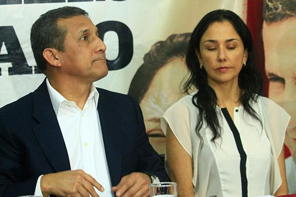 Humala y Nadine fueron prestamistas de dinero sucio