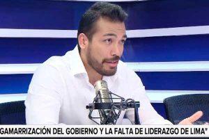 """Álvaro Paz de la Barra: """"Jorge Muñoz no está actuando con liderazgo"""""""