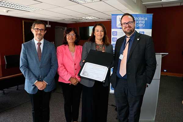 BNP recibe certificado de la Unesco