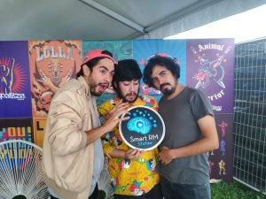 Banda chilena Ases Falsos conversa con la radio rock Smart RM