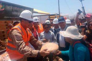 Tacna: Ejército del Perú realiza Acción Cívica de Ayuda Humanitaria en Mirave [VÍDEO]