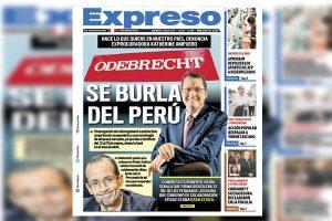 Odebrecht: Reacciones de portada