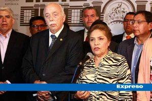 Fuerza Popular votará a favor de suspender a Foronda por contratar a exemerretista