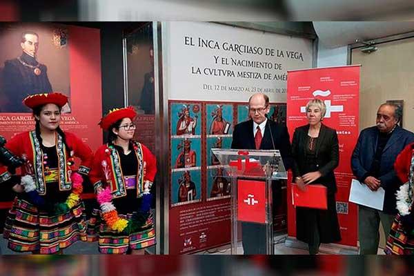 Exposición del Inca Garcilaso en Pekín