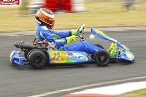 Mateo Delgado brilla en el fórmula karts de México