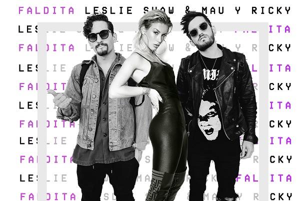 Leslie Shaw anuncia nueva canción junto a Mau y Ricky