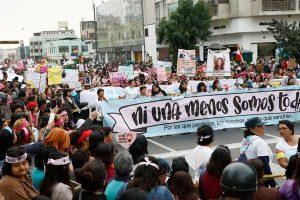 Día de la Mujer: Ruta de la #Marcha8M [FOTO]