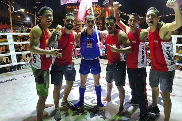 Muay Thai Peruano conquista cuatro títulos mundiales en Tailandia