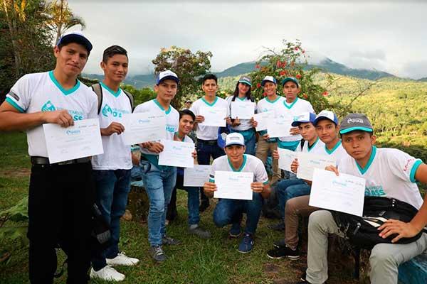 San Martín: 26 jóvenes de Beca 18 integran voluntariado a favor del agua