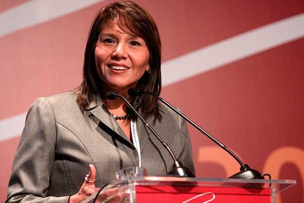 Paola Bustamante asegura que el gobierno de Martín Vizcarra es positivo
