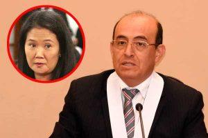 Caso Cócteles: Juez Víctor Zúñiga asume investigación contra Keiko Fujimori