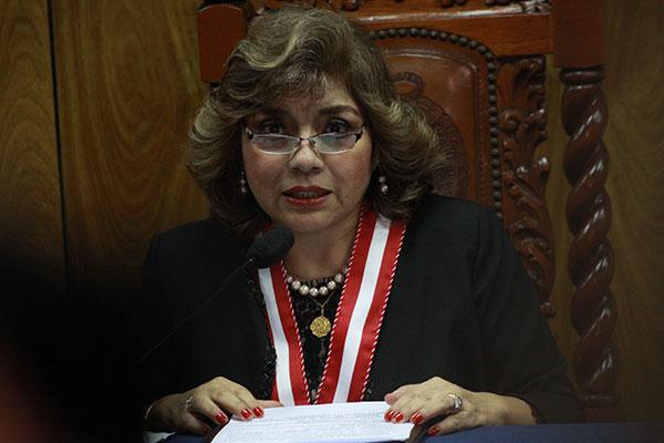 Zoraida Ávalos: Si llegamos a obtener evidencia contra el presidente Vizcarra, tendríamos que denunciarlo