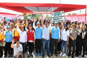 Primer Barrio Seguro del año se inauguró en Ancón