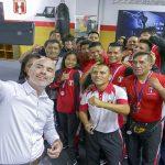 IPD brinda reconocimiento a la selección peruana de boxeo