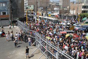 Multaran a galerías que faciliten venta ambulatoria en Gamarra