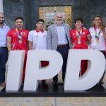 Rinden homenaje a la delegación peruana que logró récord histórico en los IV Juegos Suramericanos