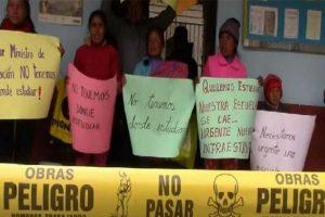 Junín: Alumnos de escuela en Ricrán inician clases en hospedaje