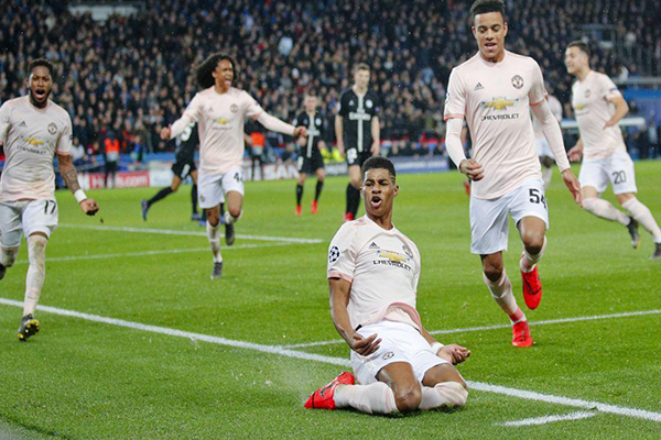 Champions League: PSG vs. Manchester United (1-3)
