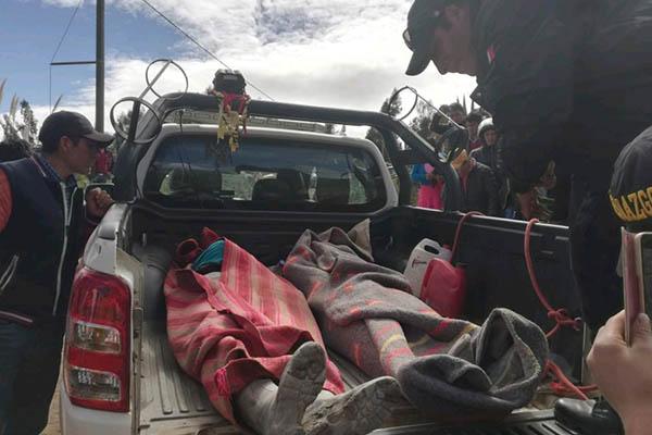 Ocho mineros mueren asfixiados en socavón del cerro El Toro