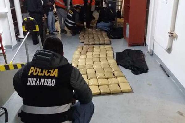 """La Libertad: """"Patrones de la Bahía"""" caen con 2 toneladas de cocaína"""